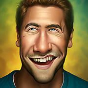 Jake Gyllenhaal Caricature