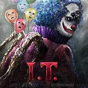 June 2015 - IT Movie Poster - Pennywise remake