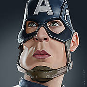 Captain America Caricature_1