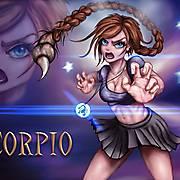 Scorpio- Manga Style