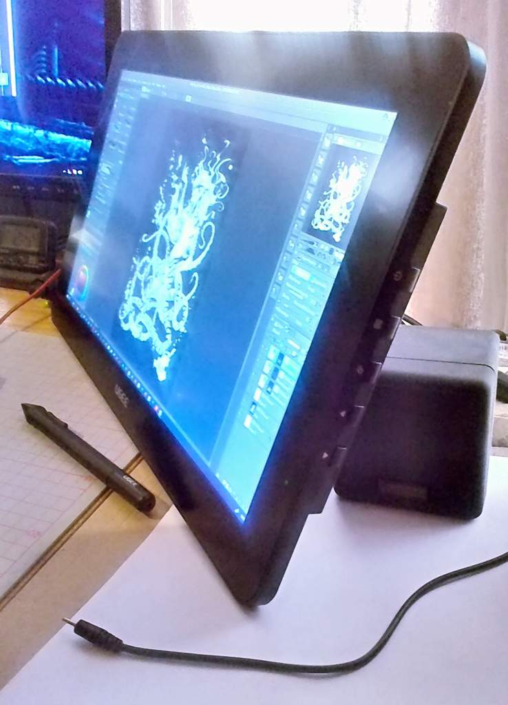 CG Art Nexus - Ugee HK1560 display tablet review