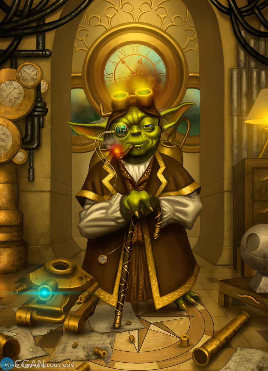 Yoda Meets Steampunk