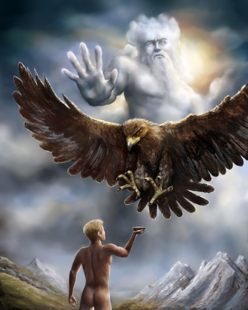 CG Art Nexus - Digital... Zeus Digital Painting